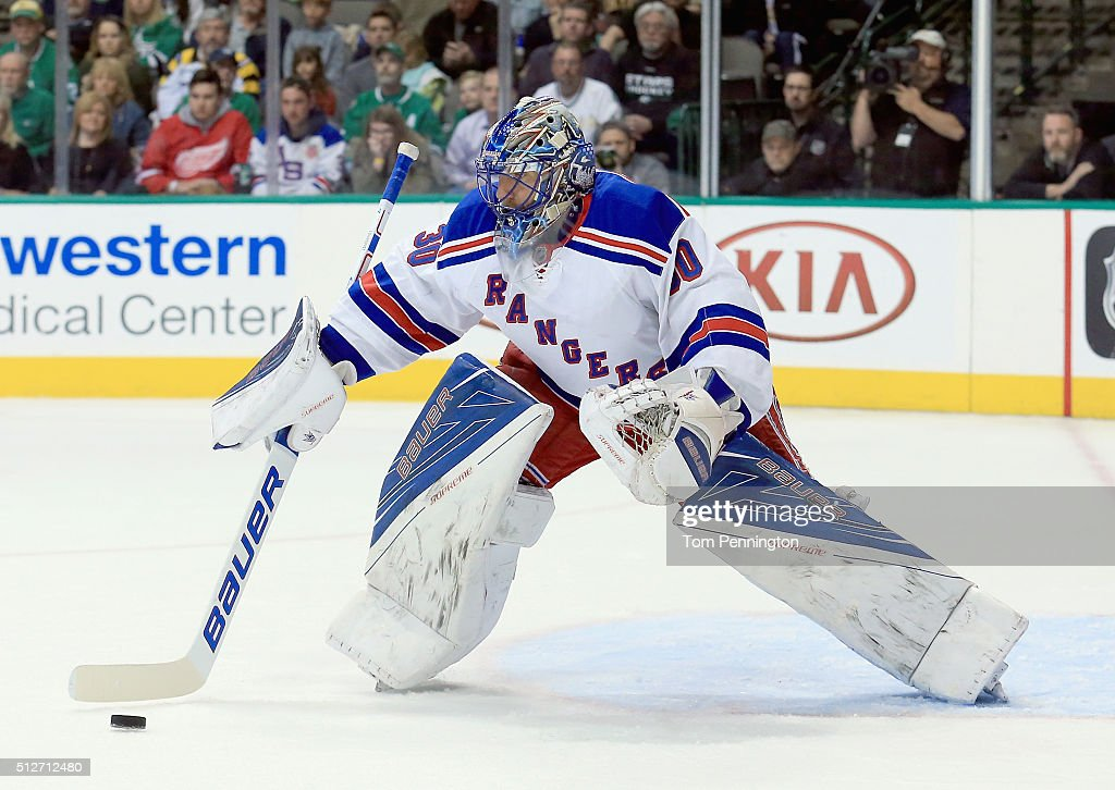 New York Rangers v Dallas Stars : News Photo