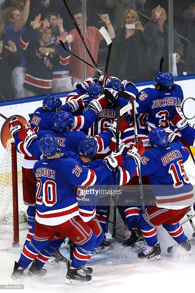 Montreal Canadiens v New York Rangers - Game Six : News Photo