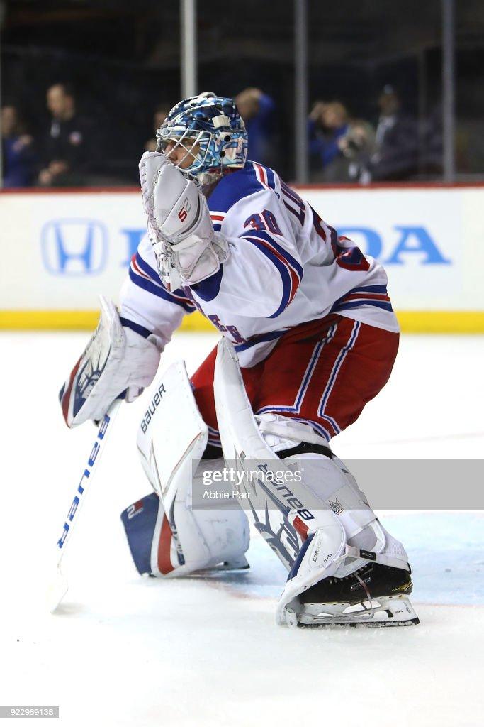 New York Rangers v New York Islanders : News Photo