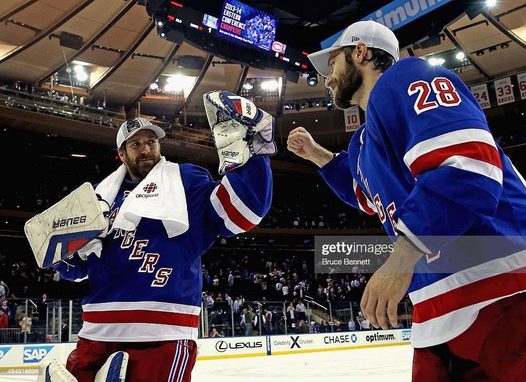 Montreal Canadiens v New York Rangers - Game Six : News Photo
