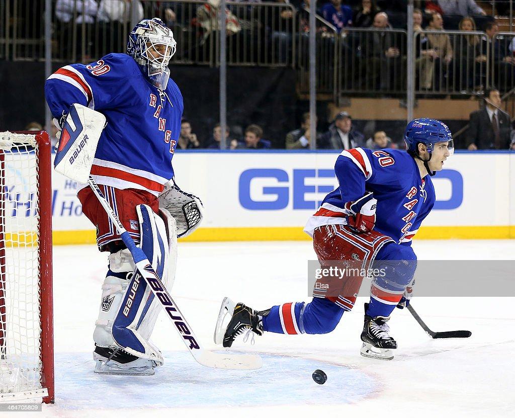 St. Louis Blues v New York Rangers : News Photo
