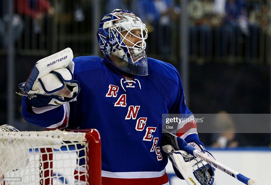 Pittsburgh Penguins v New York Rangers - Game Six : News Photo