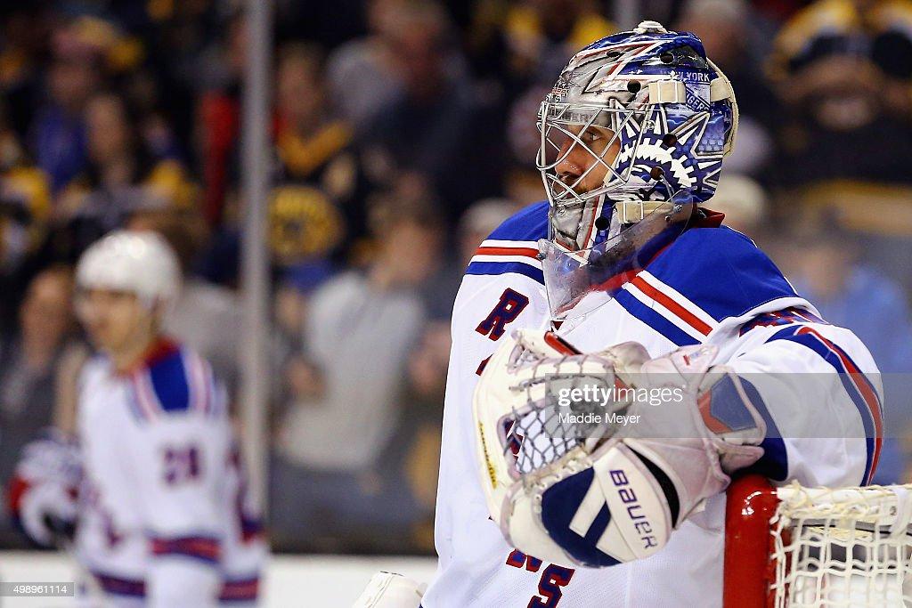 New York Rangers v Boston Bruins : News Photo