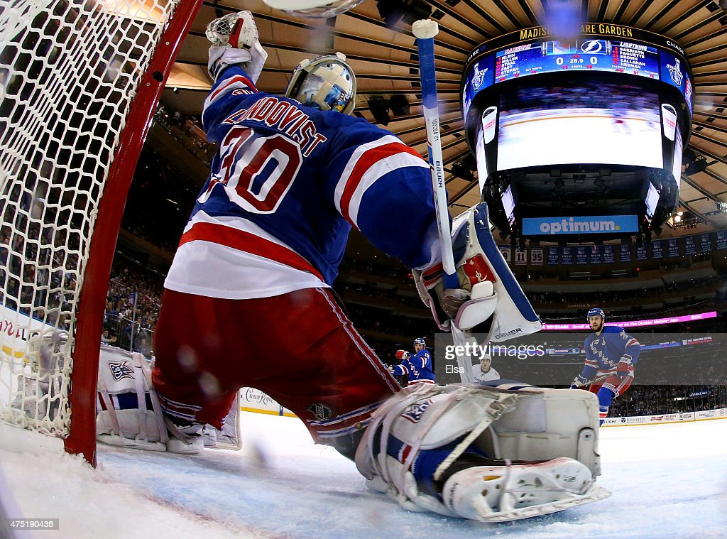 Tampa Bay Lightning v New York Rangers - Game Seven : Fotografía de noticias