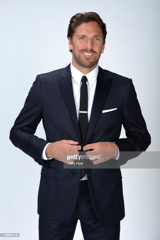 Henrik Lundqvist of the New York Rangers poses for a portrait during the 2012 NHL Awards at the Encore Theater at the Wynn Las Vegas on June 20, 2012 in Las Vegas, Nevada.