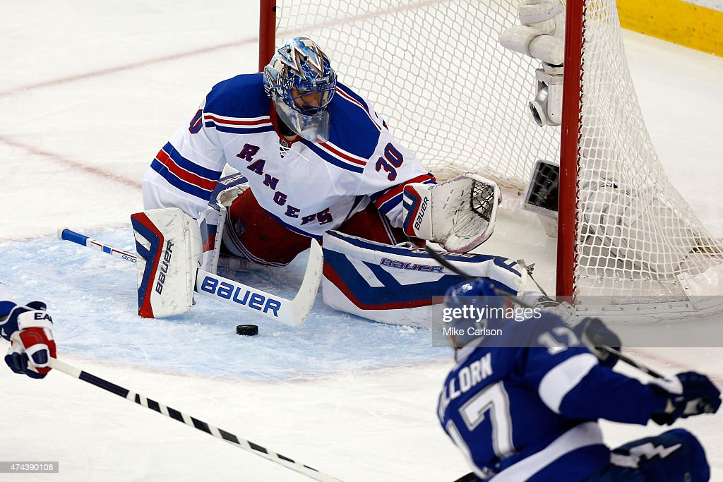 New York Rangers v Tampa Bay Lightning - Game Three : News Photo