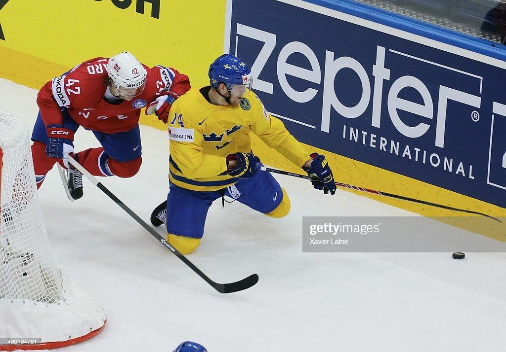 Norway v Sweden - 2014 IIHF World Championship