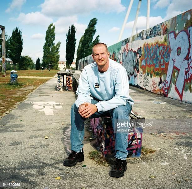 Henrik Roedl Sportler Basketball Trainer Alba Berlin im Mauerpark an der Bernauer Straße Berlin
