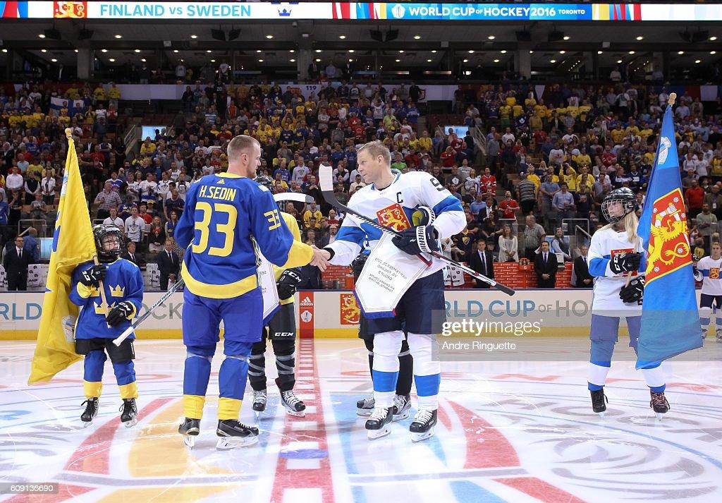 World Cup Of Hockey 2016 - Finland v Sweden : Nachrichtenfoto