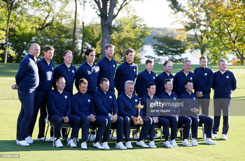 2016 Ryder Cup - Team Photocalls : News Photo