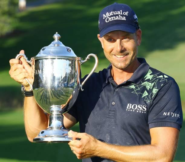 Golf: Henrik Stenson wins Wyndham C'ship
