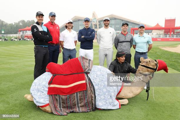 Henrik Stenson of Sweden Matt Kuchar of the United States Tommy Fleetwood of England Justin Rose of England Dustin Johnson of the United States Paul...