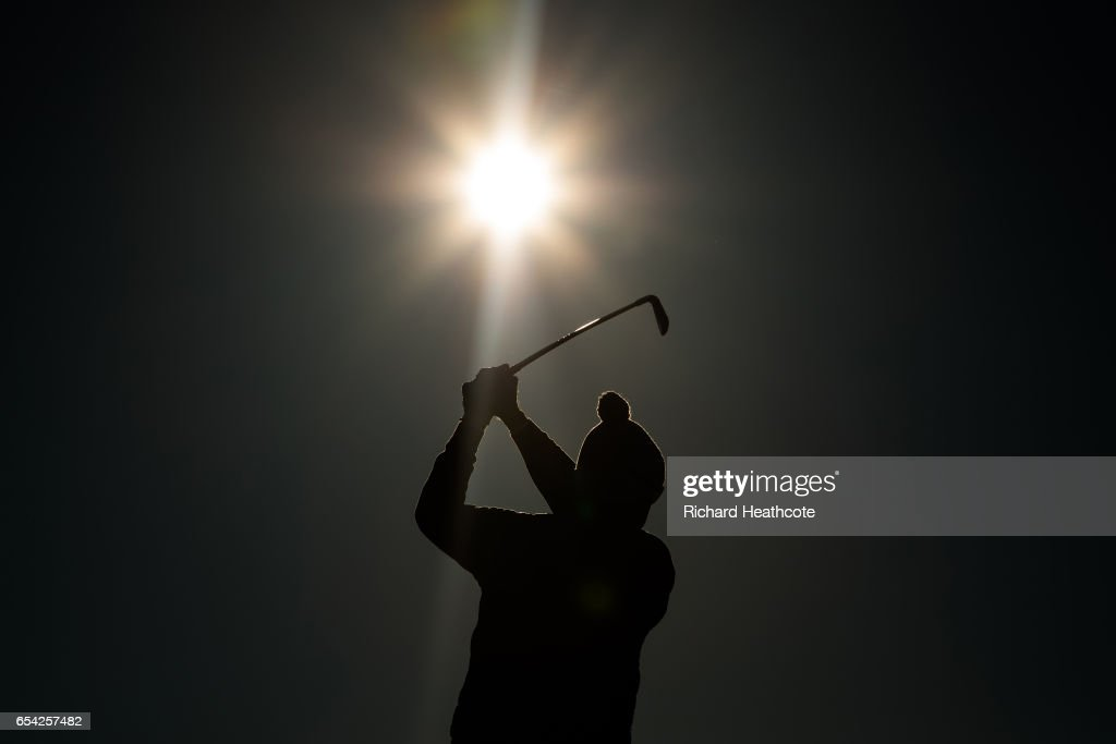 Henrik Stenson of Sweden plays his shot from the 13th tee during the first round of the Arnold Palmer Invitational Presented By MasterCard on March 16, 2017 in Orlando, Florida.