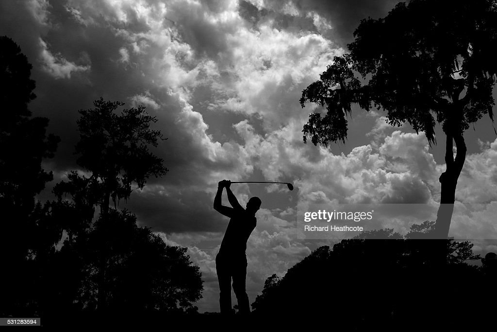 Henrik Stenson of Sweden plays his shot from the sixth tee during the second round of THE PLAYERS Championship at the Stadium course at TPC Sawgrass on May 13, 2016 in Ponte Vedra Beach, Florida.