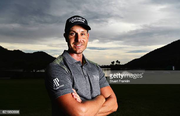 Henrik Stenson of Sweden poses for a picture during the Pro Am of the Nedbank Golf Challenge at the Gary Player CC on November 9 2016 in Sun City...
