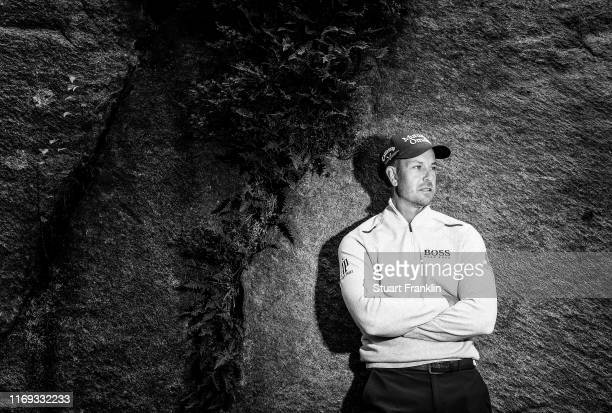 Henrik Stenson of Sweden poses for a picture during the pro-am prior to the start of the Scandinavian Invitation at The Hills Golf and Sports Club on...