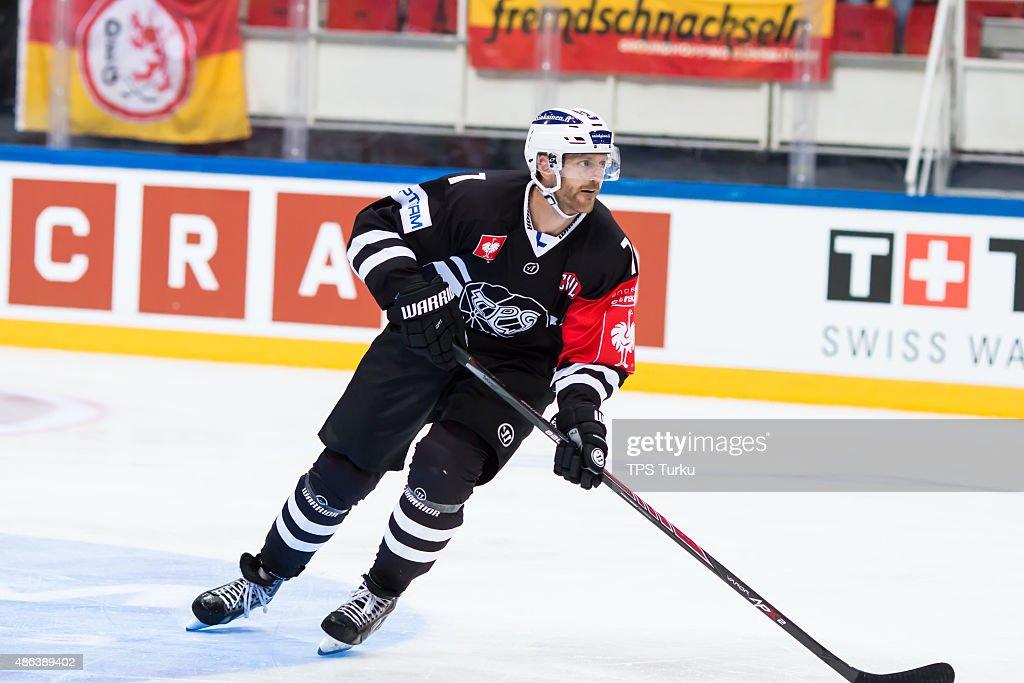 TPS Turku v Dusseldorfer EG - Champions Hockey League : News Photo