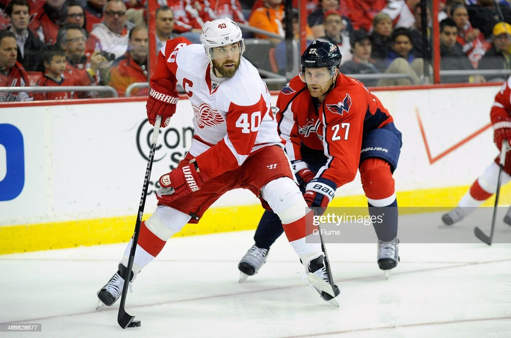 Detroit Red Wings v Washington Capitals : News Photo