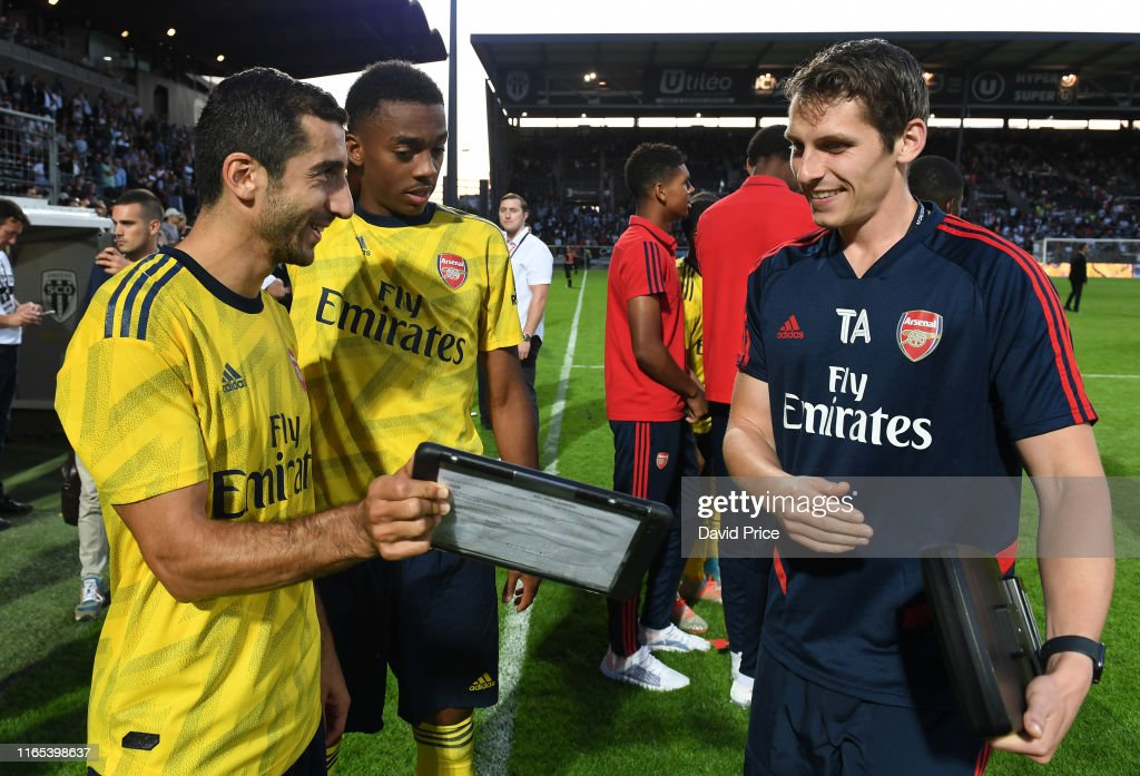 Angers v Arsenal Pre-Season Friendly : ニュース写真