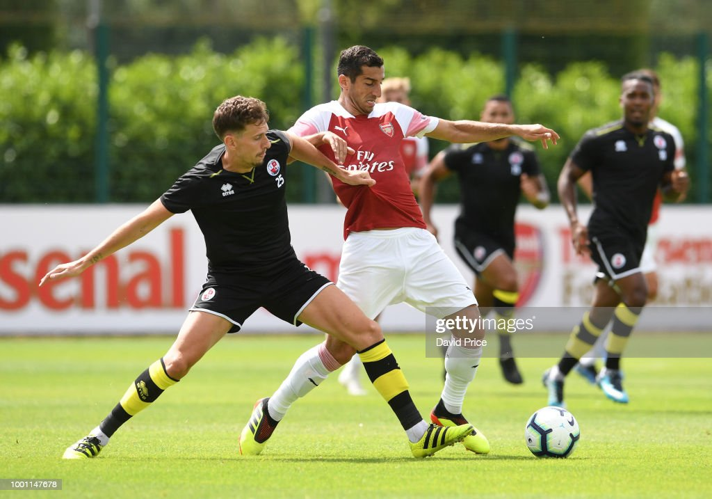 Arsenal XI v Crawley Town XI: Pre-Season Friendly