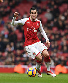 london england henrikh mkhitaryan arsenal during