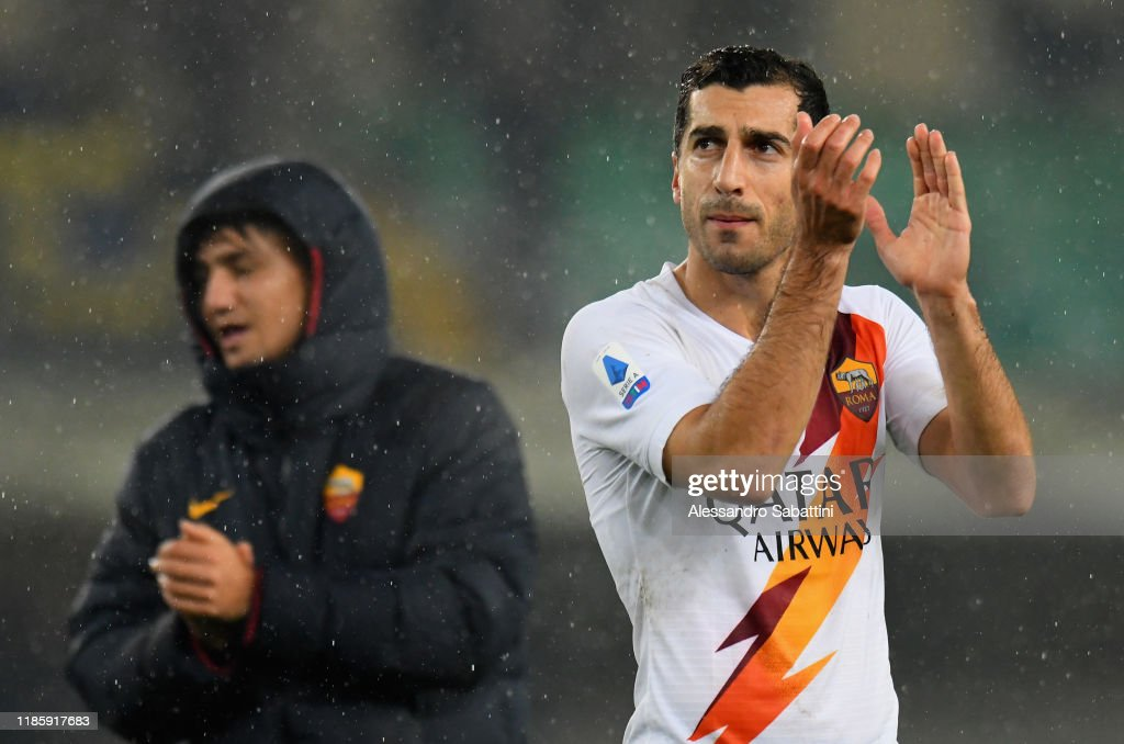 Hellas Verona v AS Roma - Serie A : News Photo