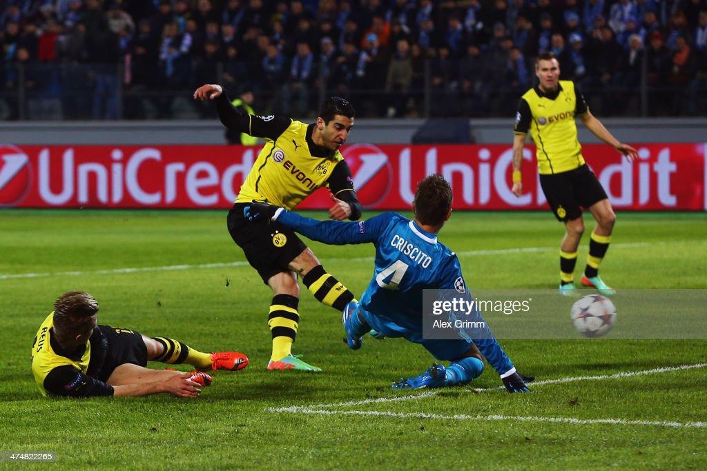 FC Zenit v Borussia Dortmund - UEFA Champions League Round of 16