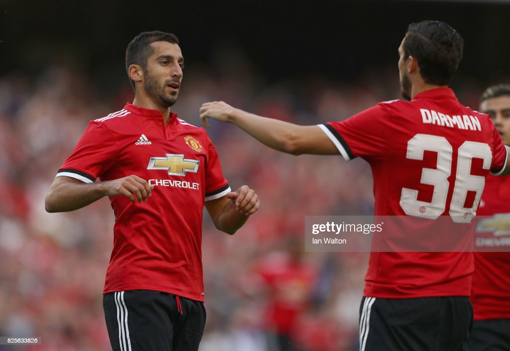 Manchester United v Sampdoria - International Champions Cup : News Photo