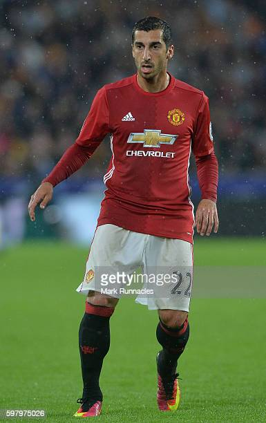 Henrikh Mkhitaryan of Manchester United in action during the Premier League match between Manchester United FC and Hull City FC at KC Stadium on...