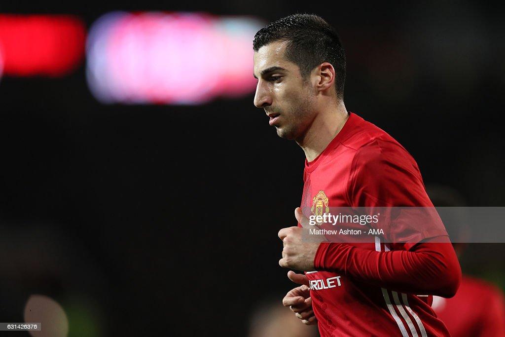 Manchester United v Hull City - EFL Cup Semi-Final: First Leg : News Photo