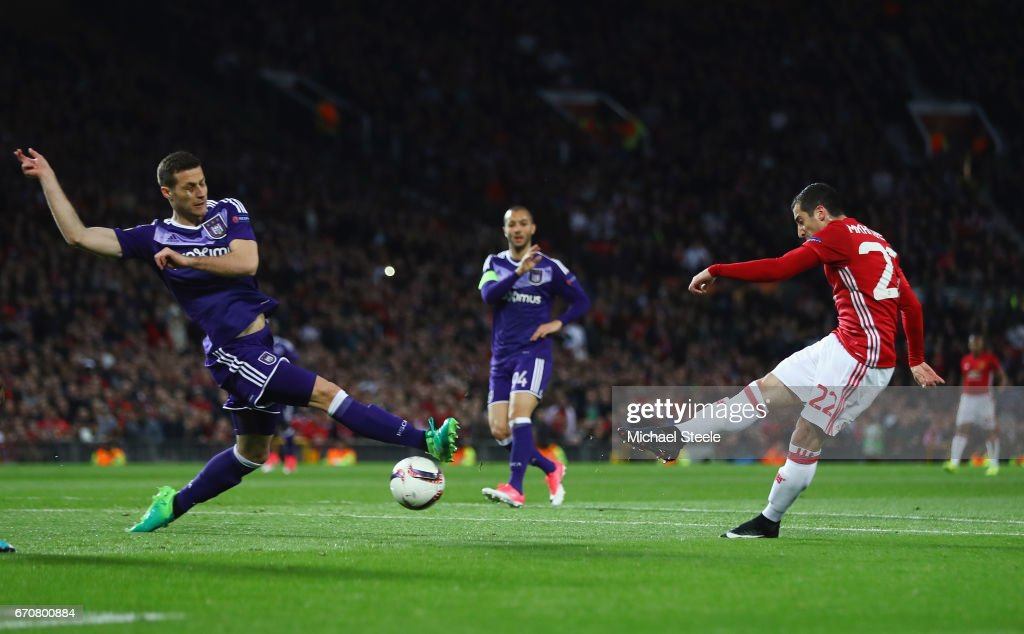 Manchester United v RSC Anderlecht - UEFA Europa League Quarter Final: Second Leg