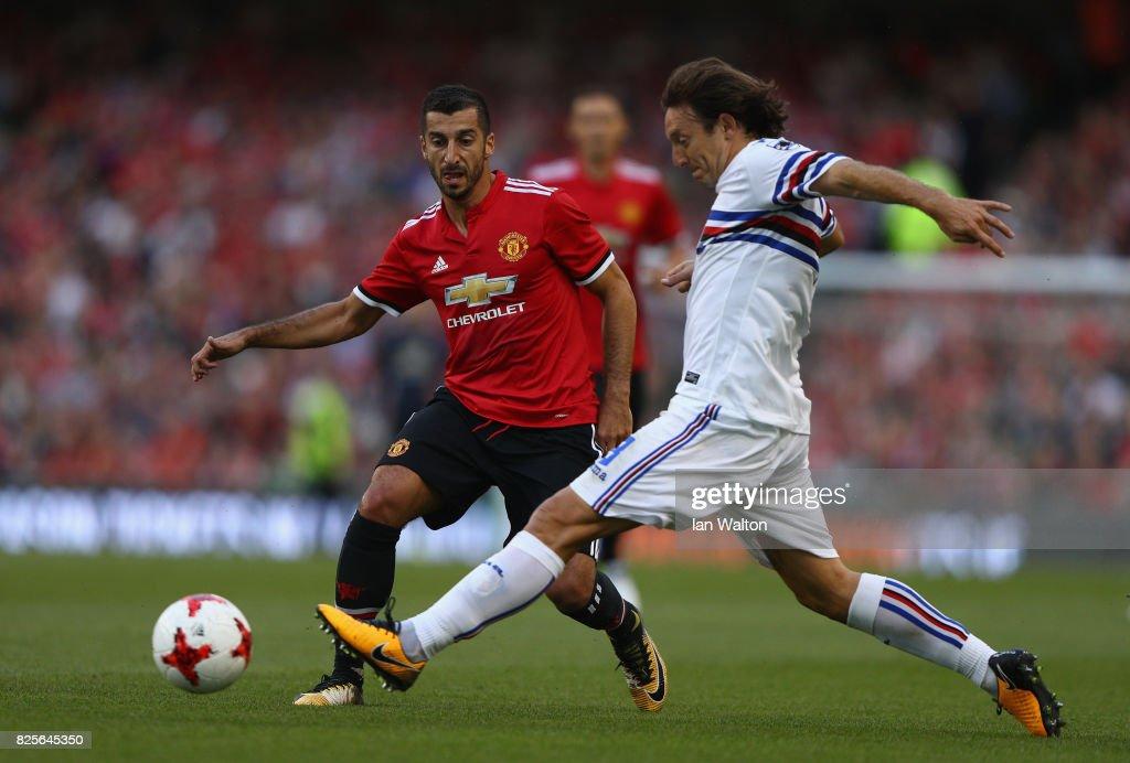 Manchester United v Sampdoria - International Champions Cup : Nachrichtenfoto