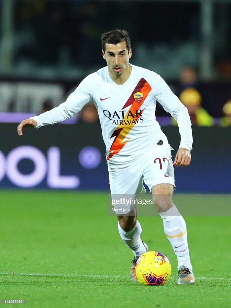 Ac Fiorentina v AS Roma  - Serie A : ニュース写真