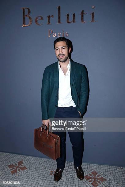 HenriNicolas de Preux attends the Berluti Menswear Fall/Winter 20162017 show as part of Paris Fashion Week on January 22 2016 in Paris France