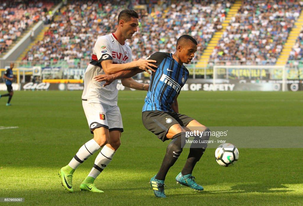 FC Internazionale v Genoa CFC - Serie A : ニュース写真