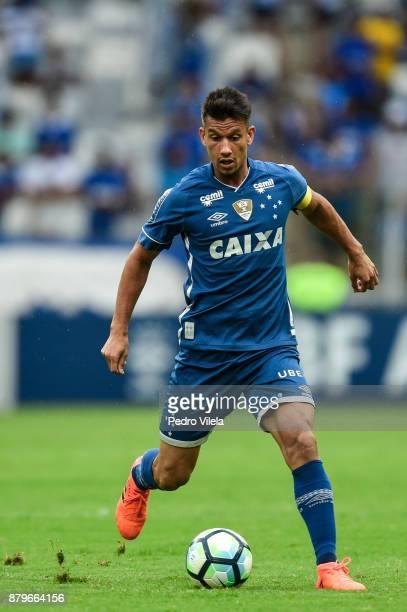 Henrique of Cruzeiro a match between Cruzeiro and Vasco da Gama as part of Brasileirao Series A 2017 at Mineirao stadium on November 26 2017 in Belo...