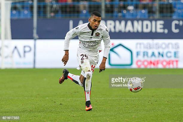 Henrique of Nice during the Ligue 1 match between SM Caen and OGC Nice at Stade Michel D'Ornano on November 6, 2016 in Caen, France.