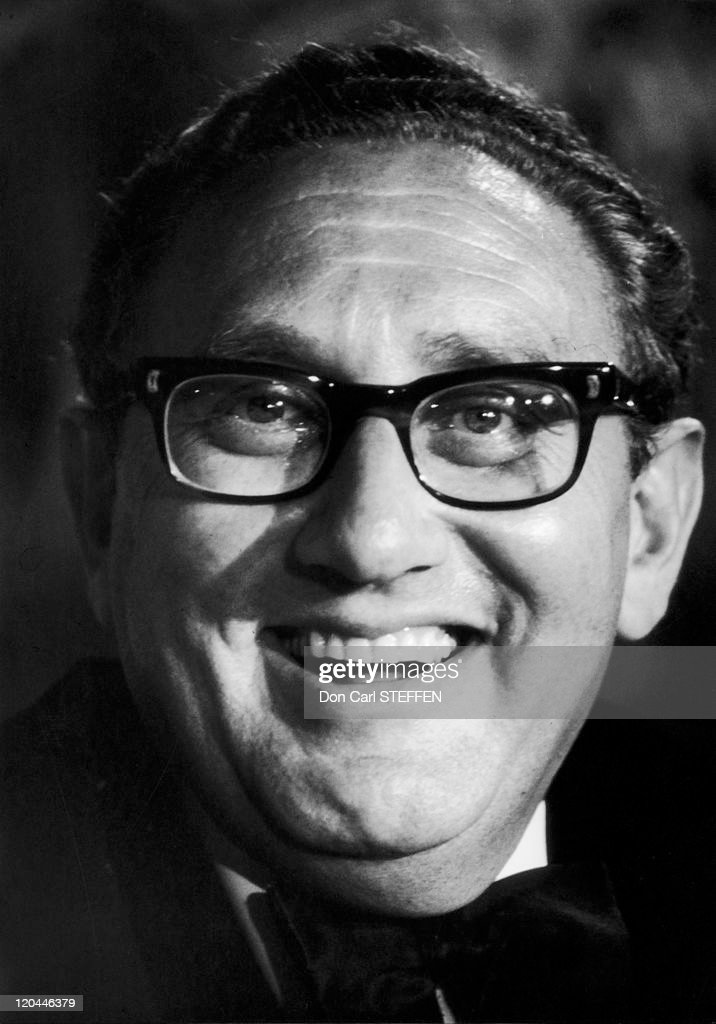 Henry Alfred Kissinger, Nobel Peace Prize In United States In 1973 - : News Photo