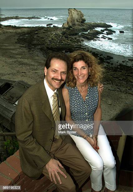 Henry and Susan Samueli have doanted millions of dollars to their temple The cofounder of Broadcom and his wife are shown on the bluff behind their...