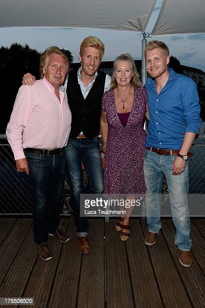 Henry Arland Maxi Arland Dorothea Zepmeisel and Hansi Arland attend the 20 Years Maxi Arland Charity Concert for SOSKinderdorf eV at Optikpark on...