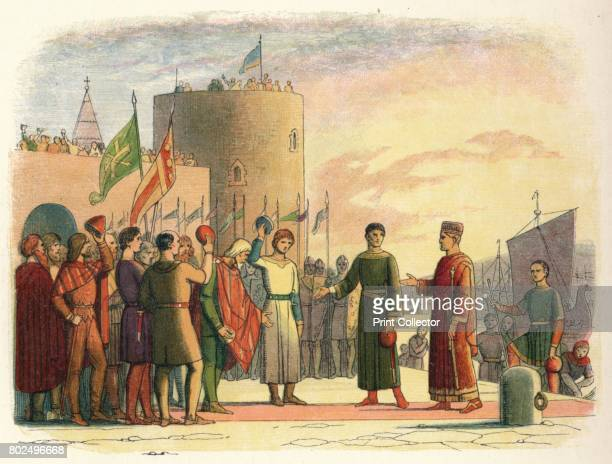 Henry at Waterford' 1864 The Norman invasion of Ireland took place in stages during the late 12th century This military intervention had the backing...