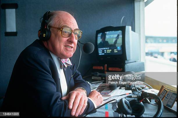 Henry Blofeld, BBC Test Match special commentary, England v Australia, 1st Test, Edgbaston, Jun 97.