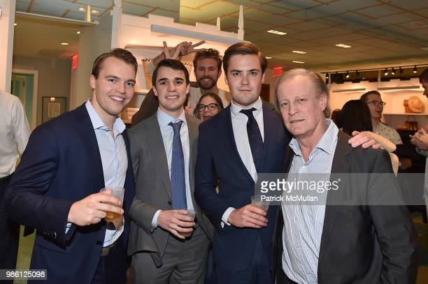 Henry Blynn Robbie Citrino William Fitzgerald and Patrick McMullan attend JMcLaughlin Shopping Event to benefit Save the Children at JMcLaughlin on...