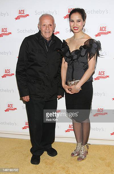 Henry Buhl and ChauGiang 'Chosan' Thi Nguyen attend The Twentieth Anniversary Gala Of ACE at Sotheby's on June 11 2012 in New York City