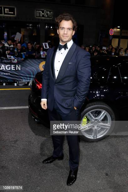 Henry Cavill arrives for the 20th GQ Men of the Year Award at Komische Oper on November 8, 2018 in Berlin, Germany.