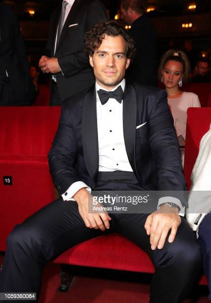 Henry Cavill arrives for the 20th GQ Men of the Year Award at Komische Oper on November 8 2018 in Berlin Germany