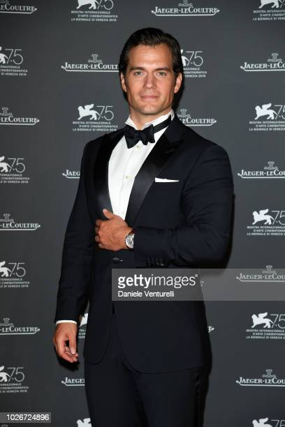 Henry Cavill arrives for the Jaeger-LeCoultre Gala Dinner during the 75th Venice International Film Festival at Arsenale on September 4, 2018 in...