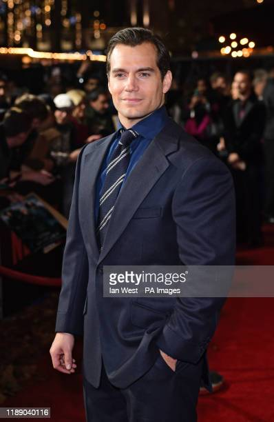 Henry Cavill attending the world premiere of Netflix's The Witcher held at the Vue Leicester Square in London