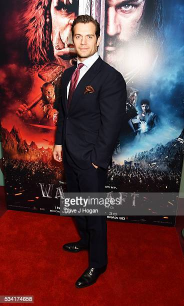 Henry Cavill attends a special screening of 'Warcraft The Beginning' at BFI IMAX on May 25 2016 in London England