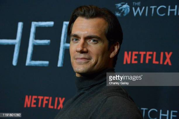 Henry Cavill attends Netflix The Witcher LA Fan Experience at the Egyptian Theatre on December 03 2019 in Los Angeles California